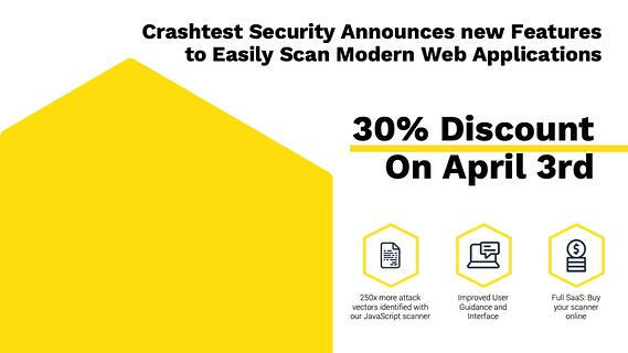 Crashtest Security SaaS Features Launch