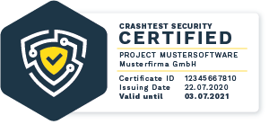 Crashtest Security Certificate